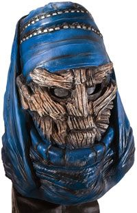 Deluxe Overhead Latex Sheik Sulieman Mask Clash of the Titans Costumes