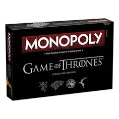 Game of Thrones Monopoly - USAopoly - Game of Thrones - Games