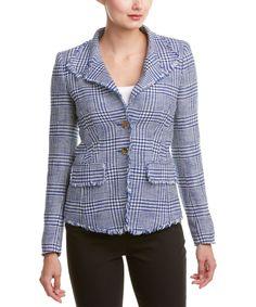 ESCADA Escada Silk-Blend Jacket'. #escada #cloth #suits