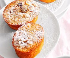 Hazelnut and apple friands recipe - By Woman& Day, Full of juicy apple pieces and crunchy hazelnuts, these light and fluffy friands are beautiful enjoyed with a mug of coffee for a relaxing afternoon treat. Tea Recipes, Baking Recipes, Sweet Recipes, Cake Recipes, Dessert Recipes, Recipies, Tea Cakes, Mini Cakes, Cupcake Cakes