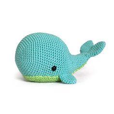 Amigurumi Pattern - whale crochet pattern.