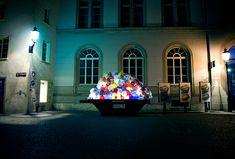 Luzinterruptus: Plastic Garbage Guarding The Museum | Fashion Trendy