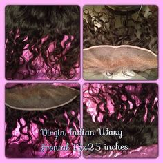 Virgin Indian Remy Wavy Frontal 13x2.5 inches Color Natural ~ 16inch ~ $115 Shipping included Accepting Paypal and Credit Card transactions Thru sales@fayslacewigs.com  #fayslacewigs 800-991-3297 **REMYHAIR from Smartphone