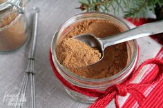 The warm & cozy blend of spices in this DIY Chai Spice Mix is perfect for that holiday baking or for easy gift giving.