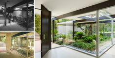 Modernist Courtyards -- Built in 1954 Beverly Hills by Richard Neutra, the years did not treat the Kronish House kindly.
