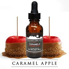 Caramela | Caramel and Apple Flavored E-Liquid 100% Made in the USA only at Mountain Oak Vapors - this turned out to be pretty tasty.. I'll order it again