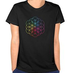Women's Coldplay A Head Full Of Dreams Logo T-shirts Black BEVH http://www.amazon.com/dp/B0185SJG4O/ref=cm_sw_r_pi_dp_OziEwb16XZ66V
