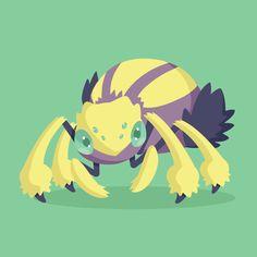 Galvantula pokemon