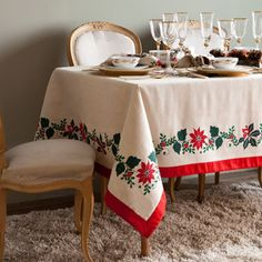 Nordic Tablecloth and Napkin - CHRISTMAS - United States of America
