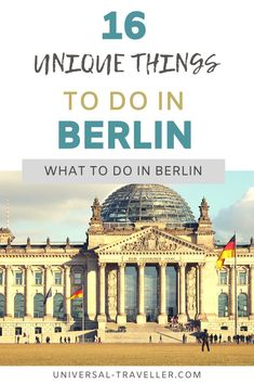 Ten most unique things to do in Berlin that you have to put on your bucket list when you visit Berlin. Best Berlin sightseeing and places to visit in Berlin Berlin City, Berlin Berlin, Berlin Germany, Places In Europe, Europe Destinations, Romantic Things To Do, Trainer, Yoga, Germany Travel