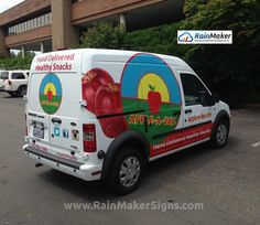 RainMaker-Signs-Apple-A-Day-Transit-Connect-Wrap-Graphics