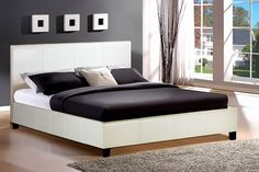 Berlin Faux-leather Bed