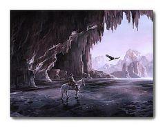 The Messanger, Canvas Print by Akiane Kramarik