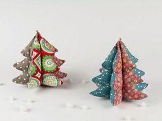Tutoriel DIY: Coudre un sapin de Noël décoratif via DaWanda.com