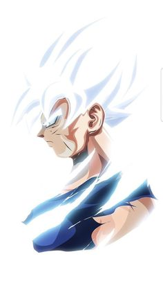 Master ultra instict goku.Art by @bosslogic