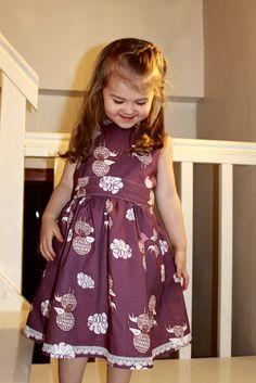 handmade girl's dress