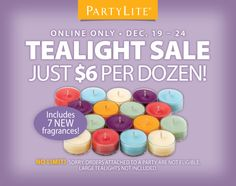 Yes, please! #PartyLiteCanada #candles