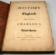 ANTIQUE BOOKS - $249.99 - The History Of England During The Reign Of Charles I by David Hume Year 1807 #antiques #books #charles1 #davidhume #london