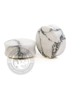 Freedom Fashion Solid Concave Red Agate Stone Saddle Plug Sold by Pair