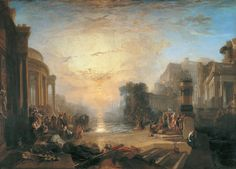 The Decline of the Carthaginian Empire, 1817, Joseph Mallord William Turner