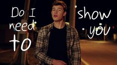 I <3 Show You (Lyric Video) by Shawn Mendes on Vevo for iPhone