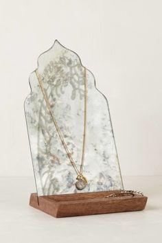 Fern-Reflection Jewelry Stand