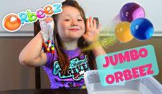 Huge Orbeez !!!- Jumbo Sized Orbeez That Grow For 4 DAYS!- Daisy Tries I...