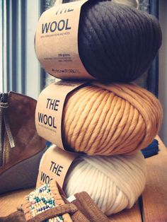This yarn would be great to be used for a nice chunky infinity scarf!