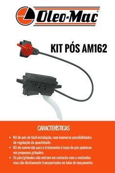 KIT DE PÓS Kits de conversão para o tratamento à base de pós químicos em pequenos grânulos. #oleomac #oleomacportugal #kitdepós #kit #pós #floresta #jardim
