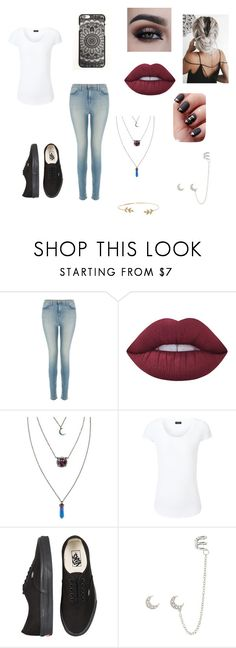"""Untitled #98"" by cake-hoodings ❤ liked on Polyvore featuring J Brand, Lime Crime, Joseph, Vans and Humble Chic"