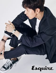 """Park Hae Jin, star of the hilarious """"Man To Man"""", spoke with Esquire for their June issue and said he considers himself a pacifist. He also thinks """"Man To Man"""" is getting mo… Asian Actors, Korean Actors, Korean Men, Park Hye Jin, My Diet Plan, Diet Plans, Yong Pal, Lee Bo Young, My Love From The Star"""