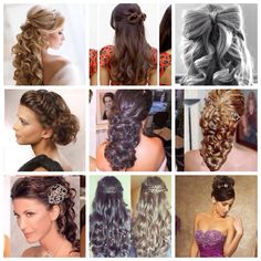 Nice hairstyles for quinceaneras