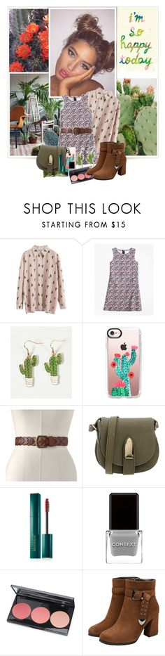 """cactus flowers"" by aura-angel ❤ liked on Polyvore featuring Brooks Brothers, Casetify, SONOMA Goods for Life, Lollipops, Estée Lauder, Context, Smashbox and Aesop"