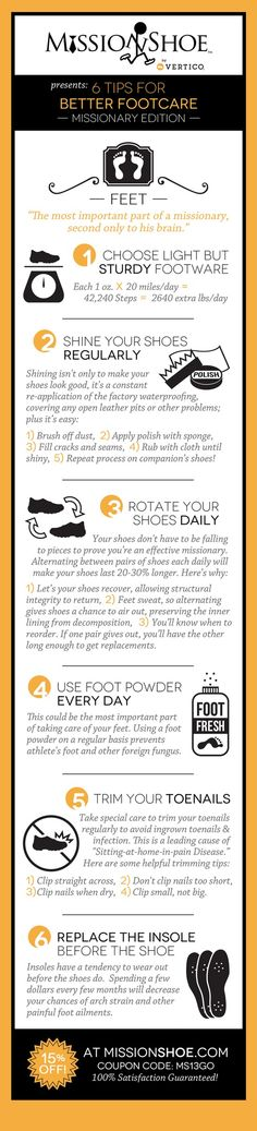 6 tips for better footcare