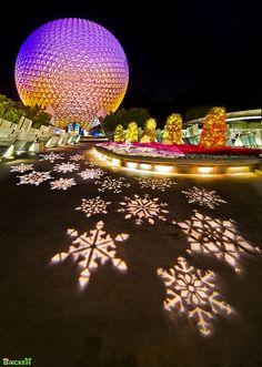 snowflake lights -cool!