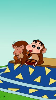 This is my best friend Monkey! Sinchan Wallpaper, Iphone Background Wallpaper, Cartoon Wallpaper, Sinchan Cartoon, Doraemon Cartoon, 3d Art Drawing, Crayon Shin Chan, Type Illustration, Animated Cartoons