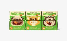 Редизайн логотипа и упаковки корма для животных МиниМи