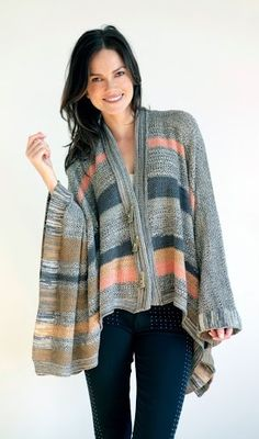 Gorgeous sweater for fall - want to be a Goddis??