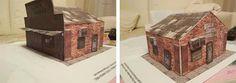 PAPERMAU: GTA V - Ammu-Nation Gun Shop Paper Model - Assembled by Fatihto