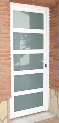 Fotos de puerta portones y protectores de forja y for Precio de puertas de aluminio en rosario