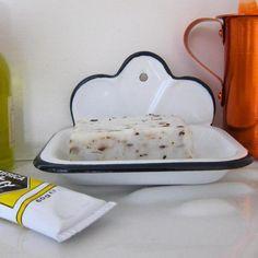 kiosk soap dish. so cute. $35 (yes, $35...)