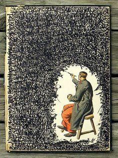 Love this work by Federico Hurtado - art journal inspiration! Kunstjournal Inspiration, Sketchbook Inspiration, Art Journal Pages, Art Journals, Journal Ideas, Artist Journal, Art Sketches, Art Drawings, Drawing Art
