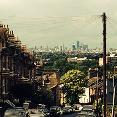 View from Gipsy Hill over London Cambridge Street, South London, Urban Landscape, Our Life, Paris Skyline, Bucket, Travel, Novels, Voyage