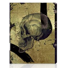 Oliver Gal 'Calavera de Oro II' Canvas Wall Art | Overstock.com Shopping - Top Rated Oliver Gal Artist Co. Canvas