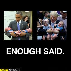 A collection of funny memes and viral images skewering Republican presidential nominee Donald Trump.: Enough Said