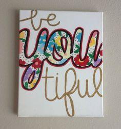 $20 #beyoutiful #canvas #painting