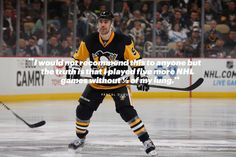 In December 2013, Pascal Dupuis – left winger for the Pittsburg Penguins, suffered the kind of hockey injury that NHL players dread.