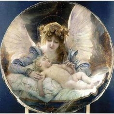 The Guardian Angel by Gabriel Ferrier
