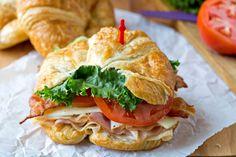 California Club Croissant Sandwich via @katedean