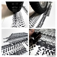 #NEWS #SWD #GREEN2STAY Artist trades paint brushes for bike tires in quirky prints Thu, Dec 11, 2014 at 09:00 AM   Read more: http://www.mnn.com/lifestyle/arts-culture/blogs/artist-trades-paint-brushes-for-bike-tires-in-quirky-prints#ixzz3MKcsQJ00